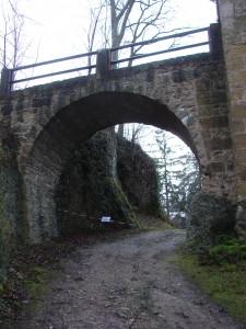 Brückenbogen Burg Rabeneck